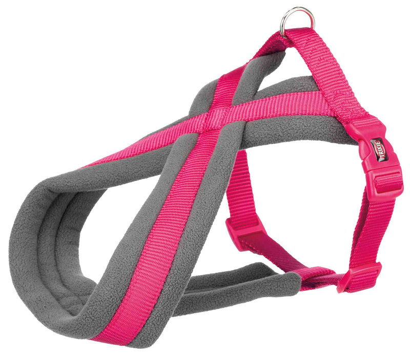 203911 Premium touring harness, M: 45-80 cm/25 mm, fuchsia