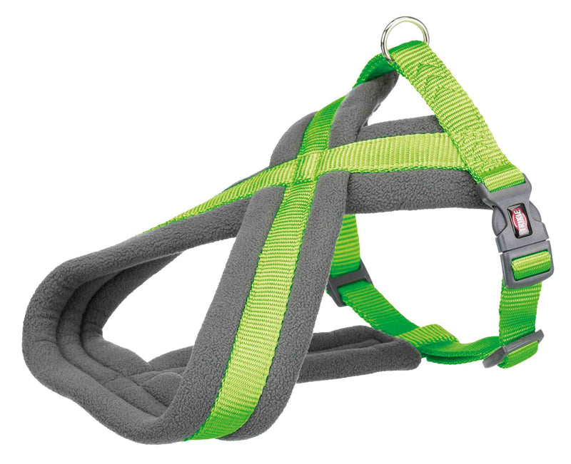 204217 Premium touring harness, L-XL: 70-110 cm/25 mm, apple