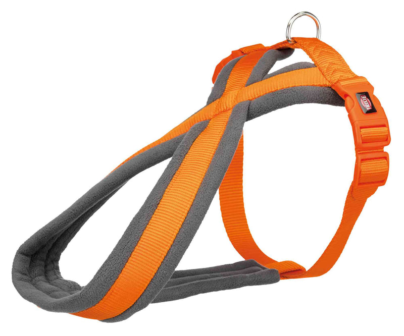 203718 Premium touring harness, S: 35-65 cm/20 mm, papaya