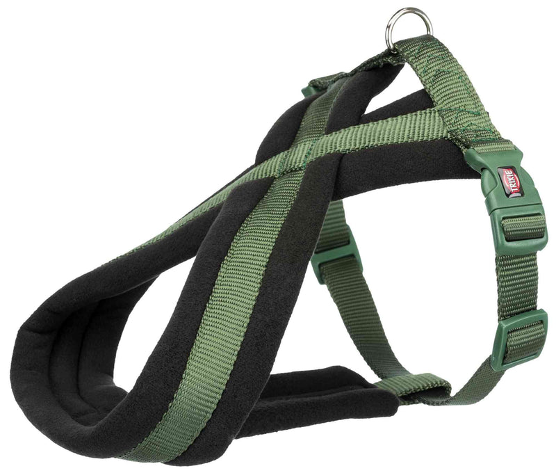 204219 Premium touring harness, L-XL: 70-110 cm/25 mm, forest