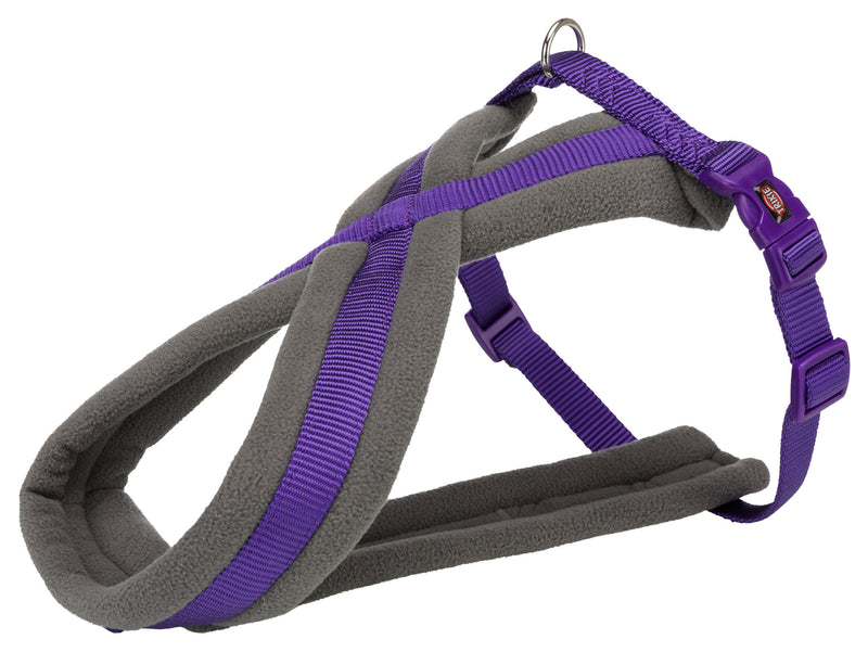204121 Premium touring harness, L: 60-100 cm/25 mm, violet