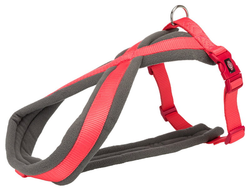 203722 Premium touring harness, S: 35-65 cm/20 mm, coral