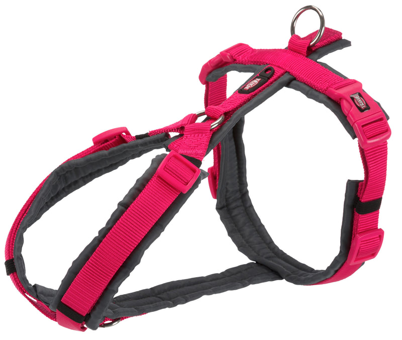 1997511 Premium trekking harness, XL: 80-97 cm/25 mm, fuchsia/graphite