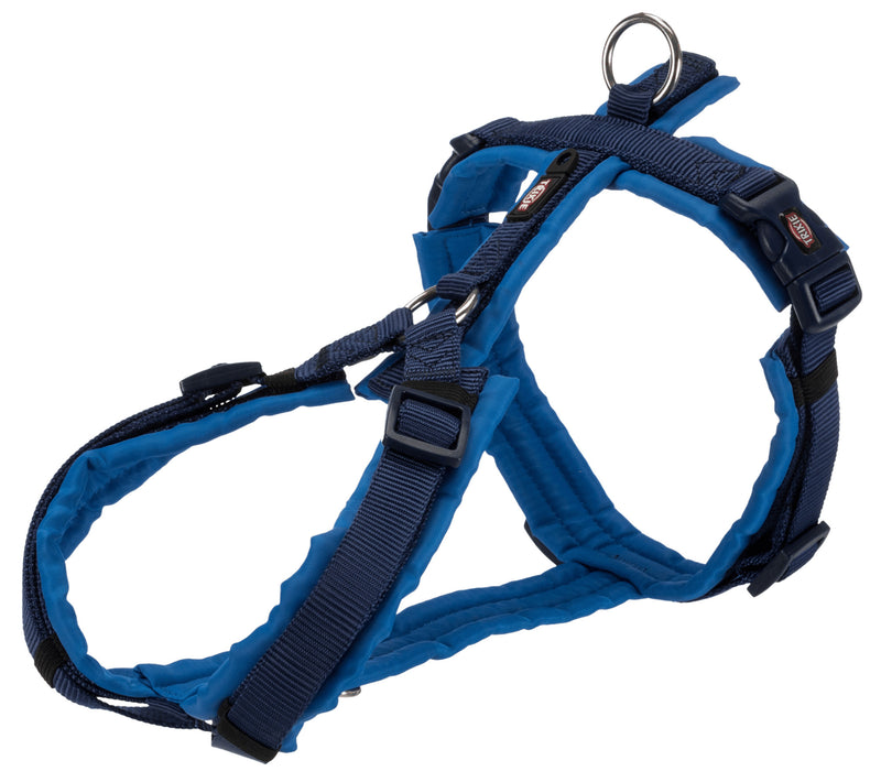 1997013 Premium trekking harness, S: 36-44 cm/15 mm, indigo/royal blue
