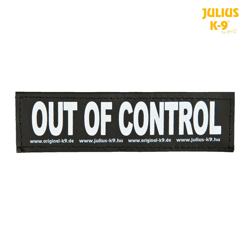 151620 2 Julius-K9� hook and loop fastener, L, OUT OF CONTROL