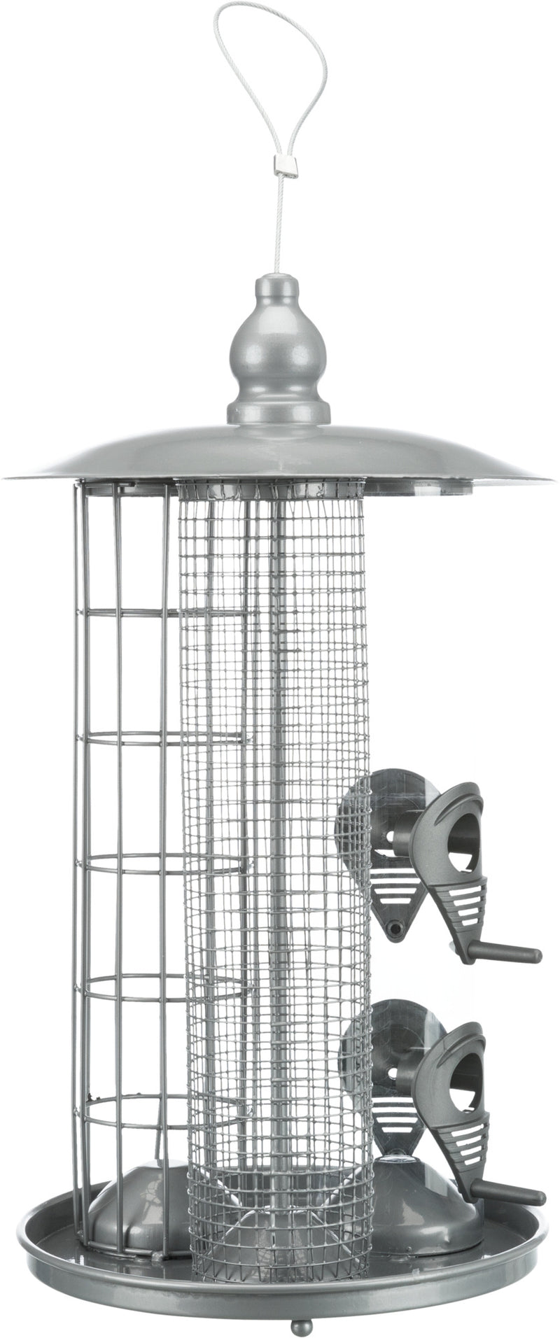 55421 Bird feeding station 3 in 1, ø 20 × 36.5 cm, SIL