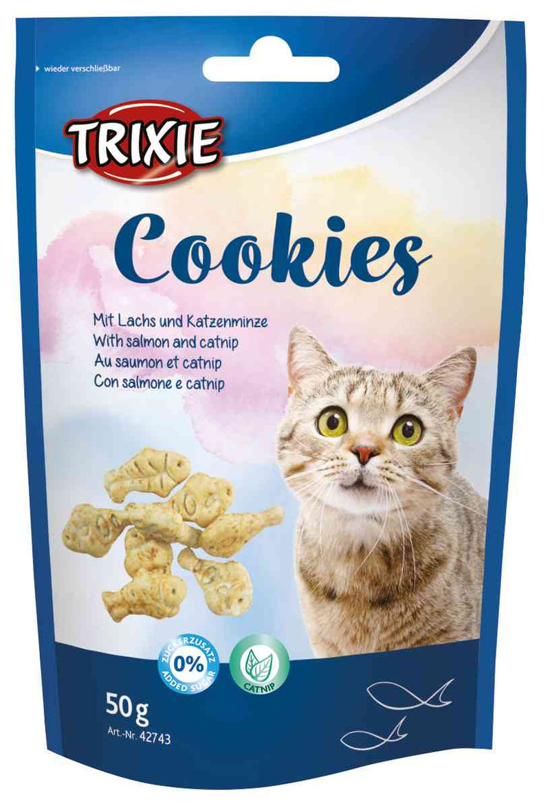 42743 Cookies with salmon and catnip, 50 g