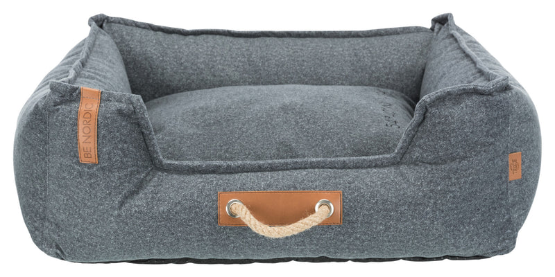 37600 BE NORDIC Föhr Soft bed, 60 × 50 cm, grey