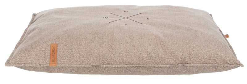 38166 BE NORDIC Föhr Soft cushion, 90 × 65 cm, sand