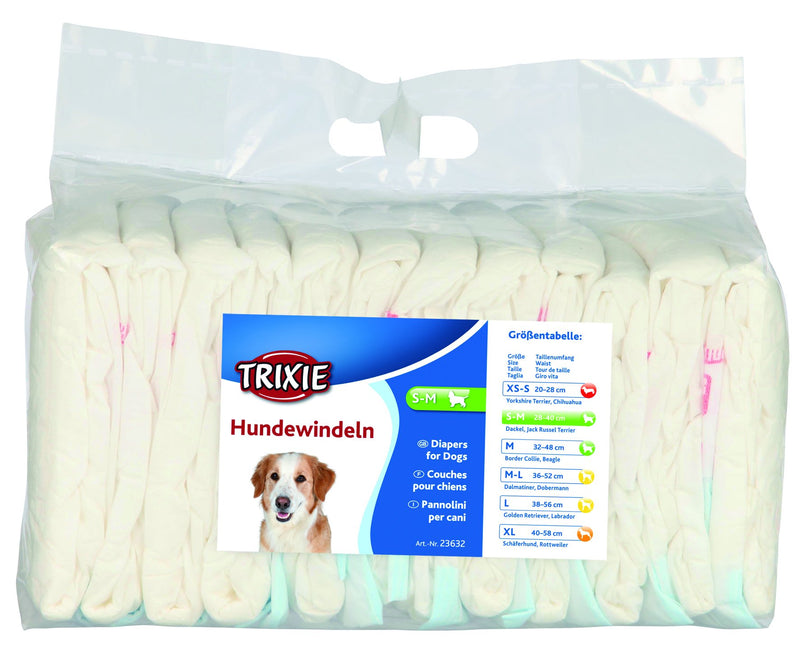 23632 Diapers for female dogs, S-M, 12 pcs.