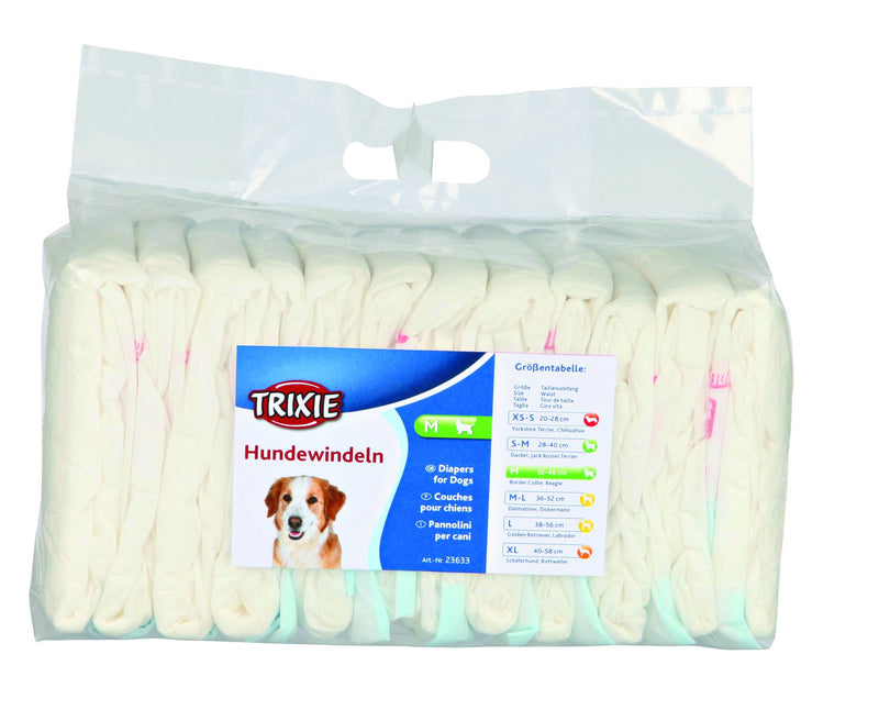 23633 Diapers for female dogs, M, 12 pcs.