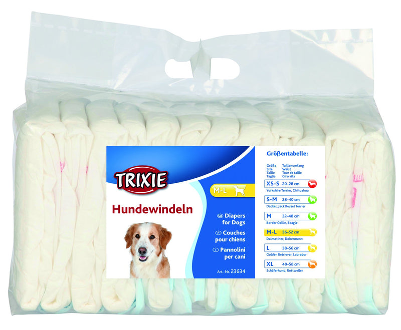 23634 Diapers for female dogs, M-L, 12 pcs.