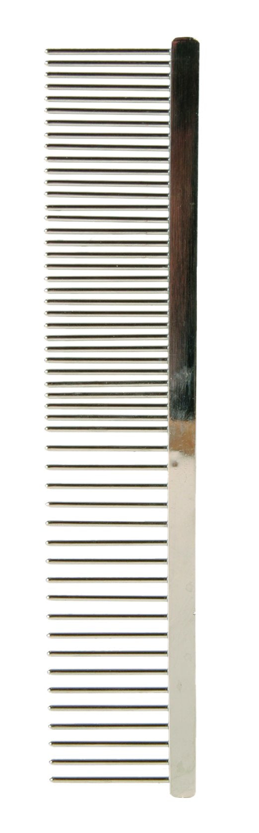 2395 Metal comb, medium/wide teeth, 16 cm
