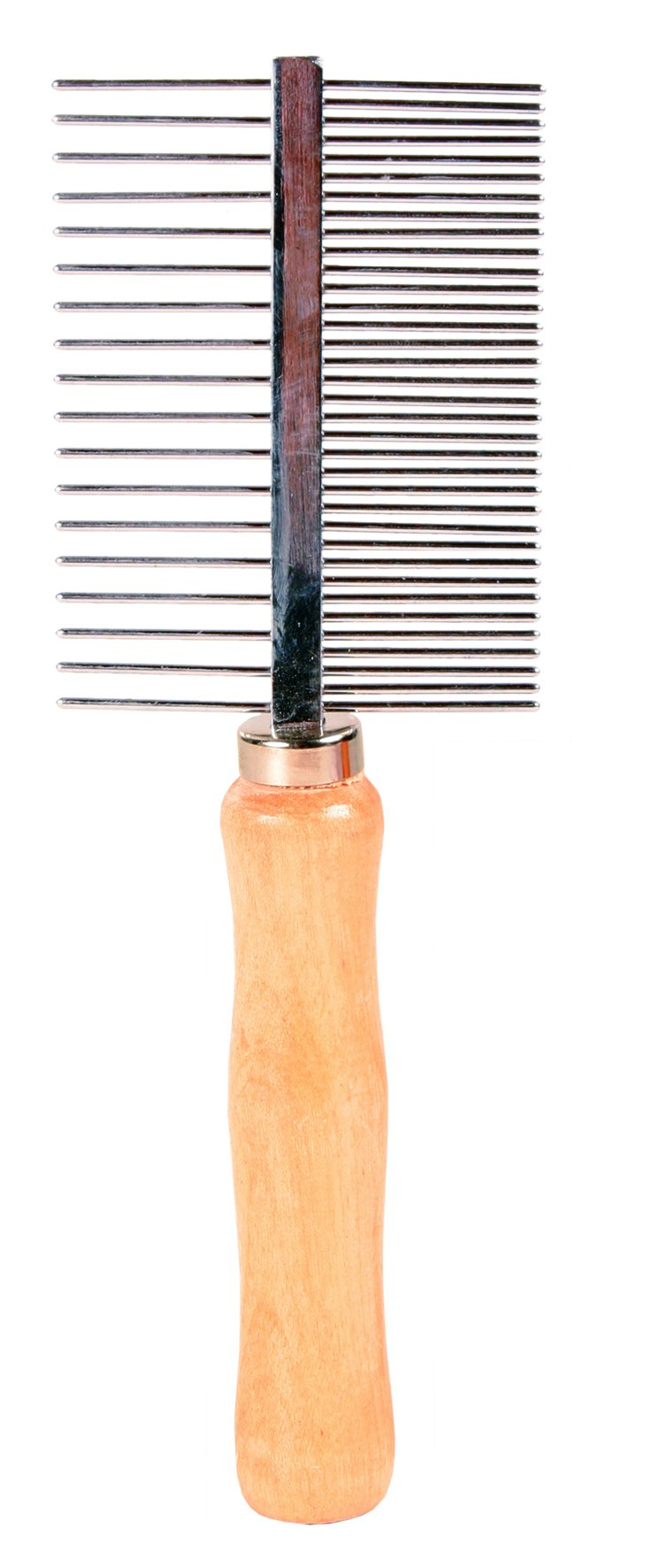 2396 Comb, double-sided, medium/wide teeth, 17 cm