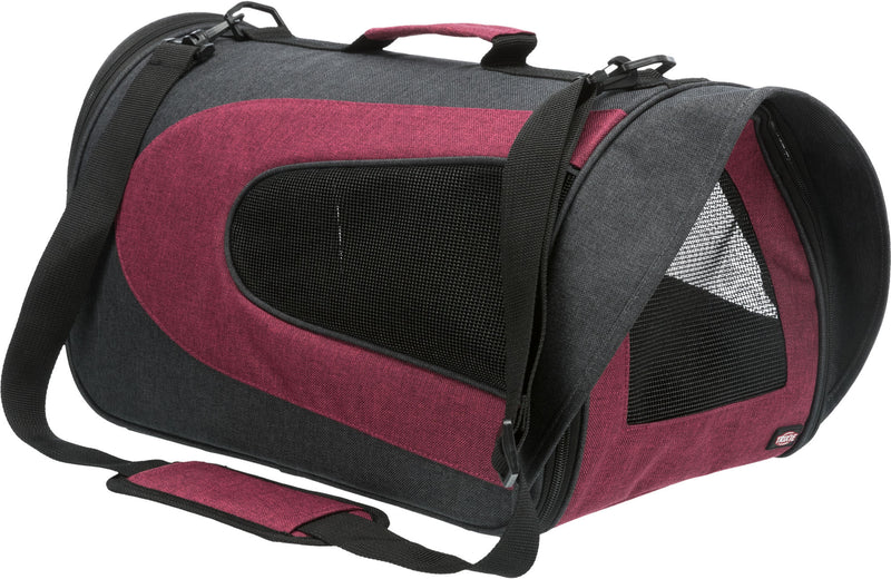 28962 Alina carrier, 27 x 27 x 52 cm, anthracite/bordeaux