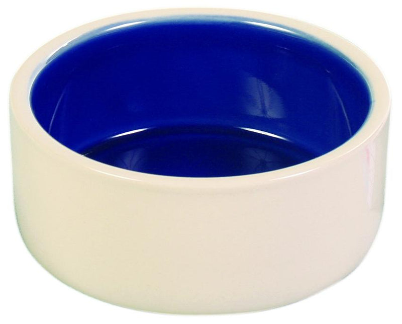 2450 Ceramic bowl, 0.35 l/diam. 12 cm, cream/blue