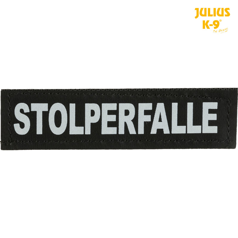 151767 2 Julius-K9® attachable labels, XS, STOLPERFALLE