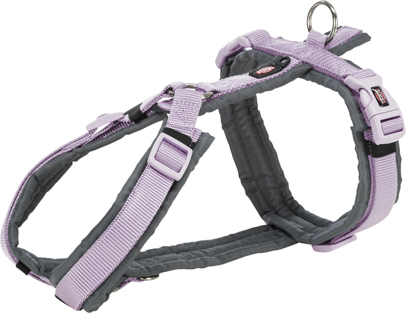 1997025 Premium trekking harness, S: 36–44 cm/15 mm, light lilac/graphite