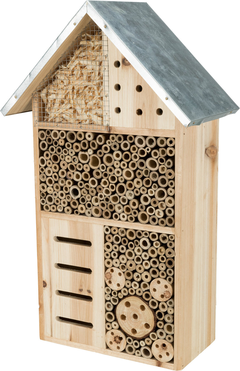 59511 Insect hotel, wood, 30 x 30 x 14 cm
