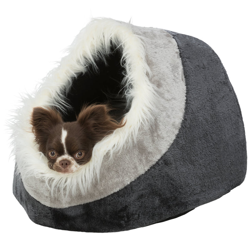 36305 Minou cuddly cave, 41 × 30 × 50 cm, dark grey/light grey