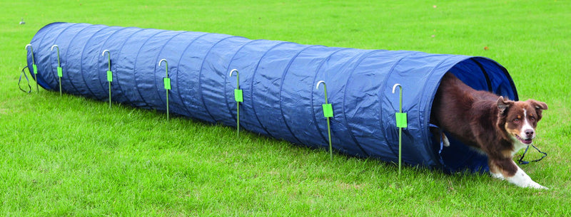 3211 Dog Activity Agility basic tunnel, diam. 60 cm/5 m, blue