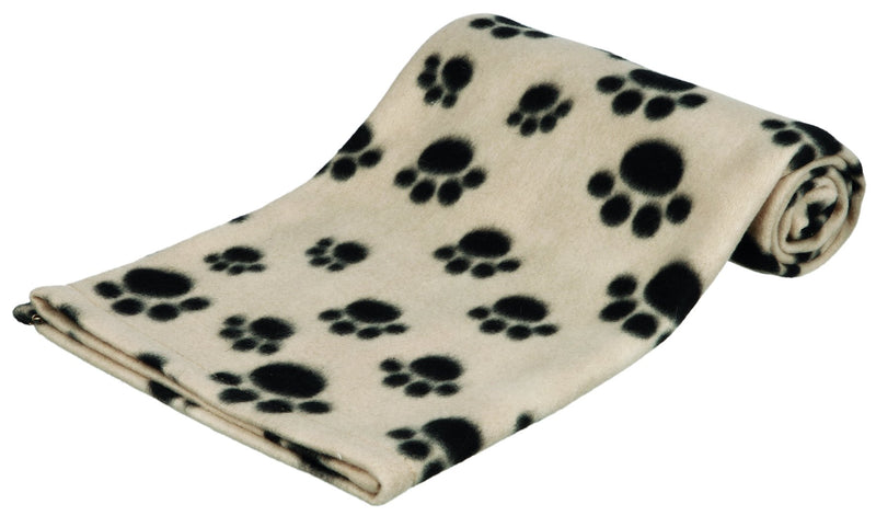 37191 Beany fleece blanket, 100 x 70 cm, beige