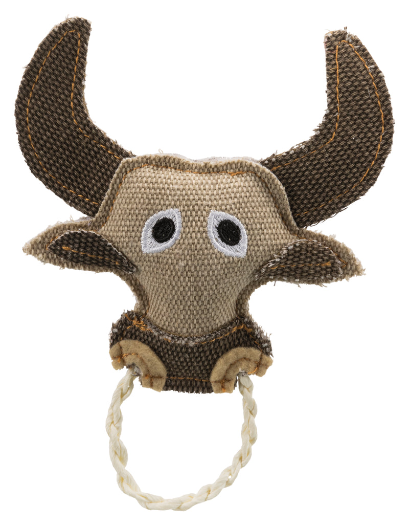 45627 Bull with rope ring, 16 cm
