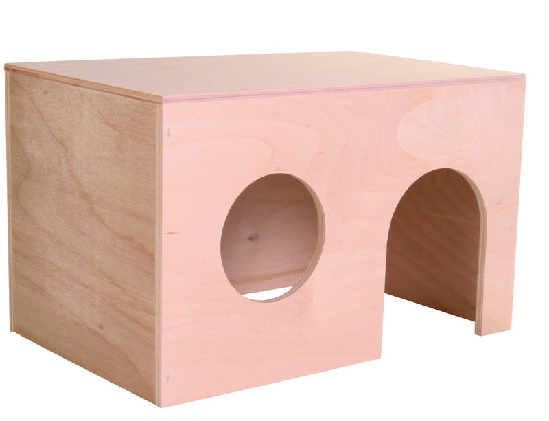60861 Wooden house for guinea pigs, 24 x 15 x 15 cm