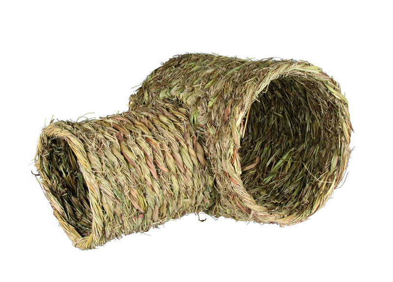 61126 Grass tunnel with turnoff for guinea pigs/rabbits, 30 x 25 x 50 cm