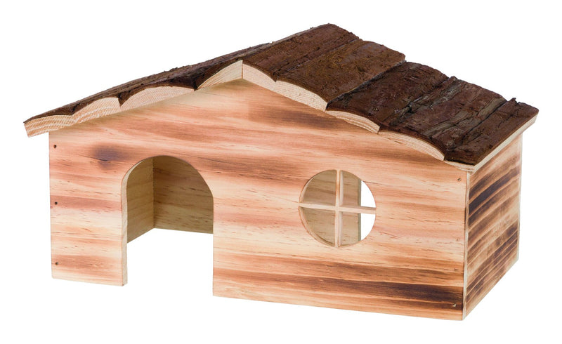 61971 Natural Living Ragna house, flamed, 35 x 18 x 20 cm