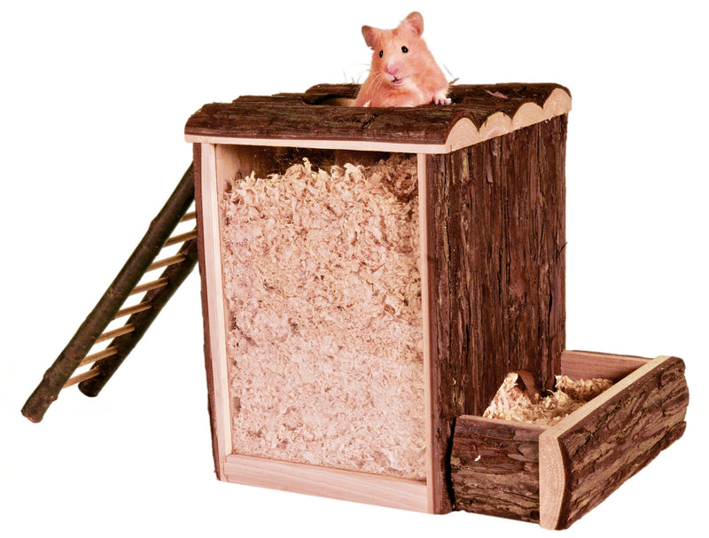 62002 Natural Living play and burrow tower, 25 x 24 x 20 cm