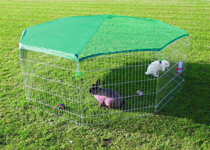 6243 natura outdoor run with safety net, diam. 210 x 75 cm