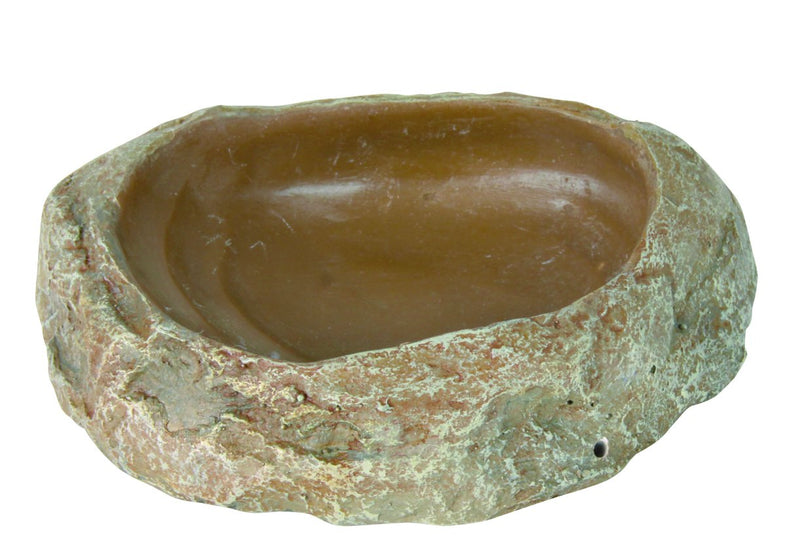 76181 Reptile water and food bowl, 11 x 2.5 x 7 cm