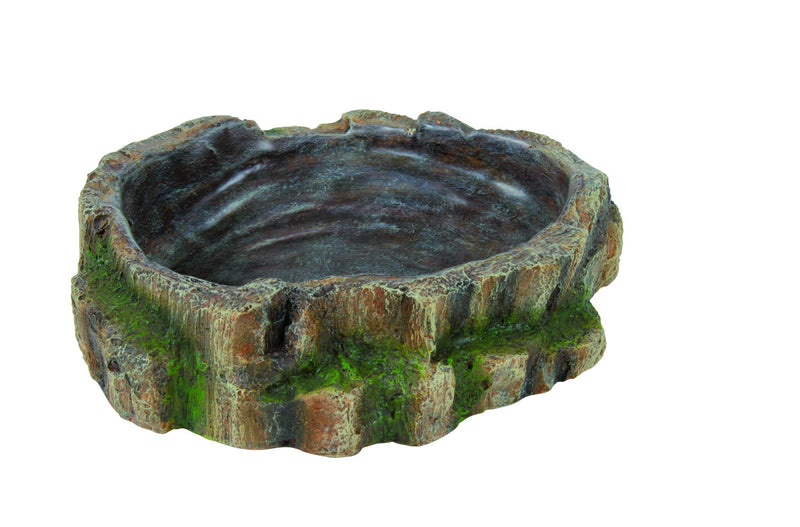 76204 Reptile water and food bowl, 18 x 4.5 x 17 cm