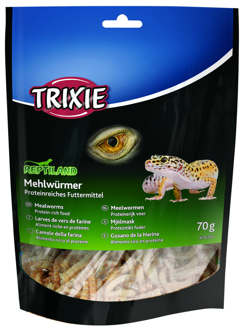76391 Mealworms, dried, 70 g