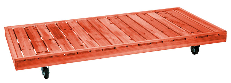 90091 Skateboard for rabbit hutches, 140 × 17 × 75 cm