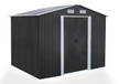 Garden Shed 8 x 6ft Shadow Grey - dealmart2020