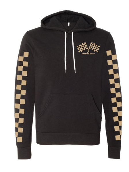 The Checkered Past Custom Unisex Hoodie