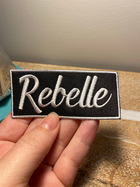 Rebelle Tab Patch