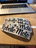 Rebelle Moto Decals