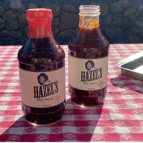 This sauce is legit! Hazel's BBQ Sauce, Sacramento California