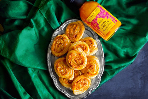 Butter Chicken Pinwheels Sutter Buttes Olive Oil