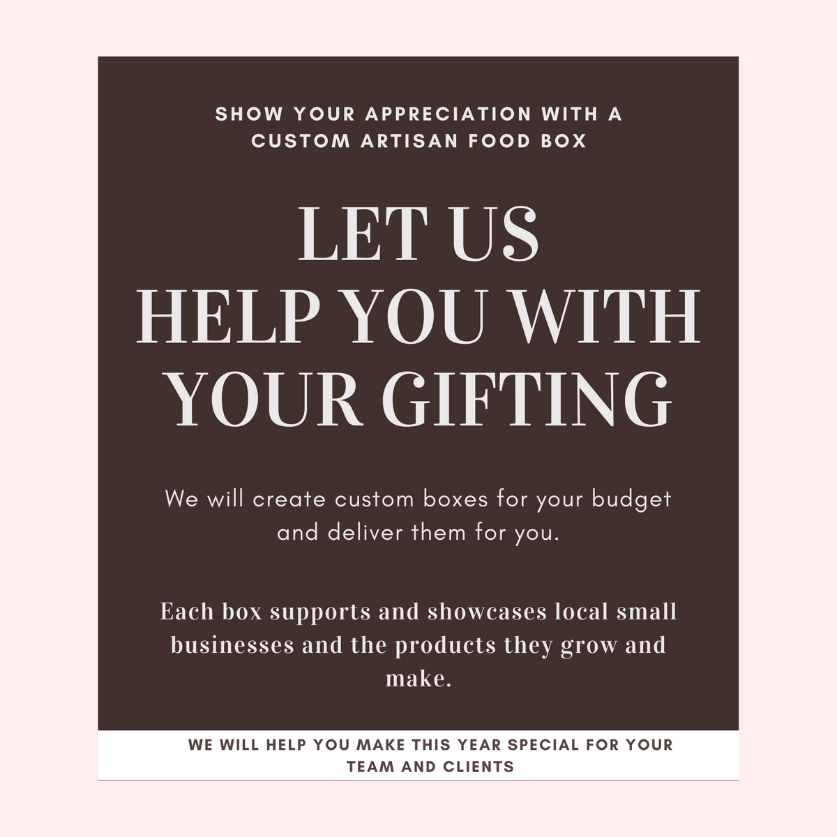 SacTown Bites Custom and Corporate Gifting Solutions