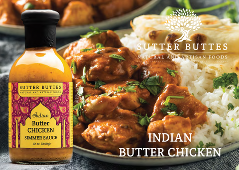 Indian Butter Chicken recipe, Sutter Buttes Olive Oil