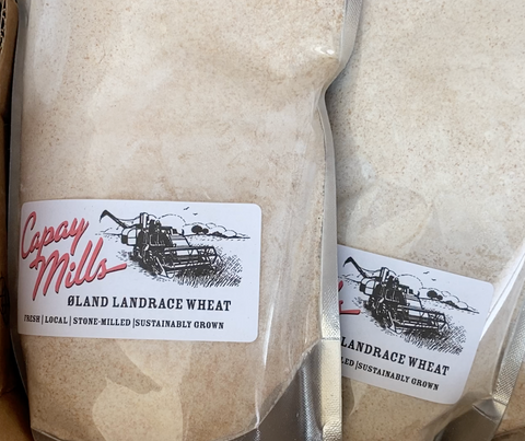 Capay Mills Øland Landrace Soft Red Wheat Flour