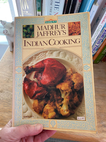 Madhur Jaffrey, Indian Cooking cookbook