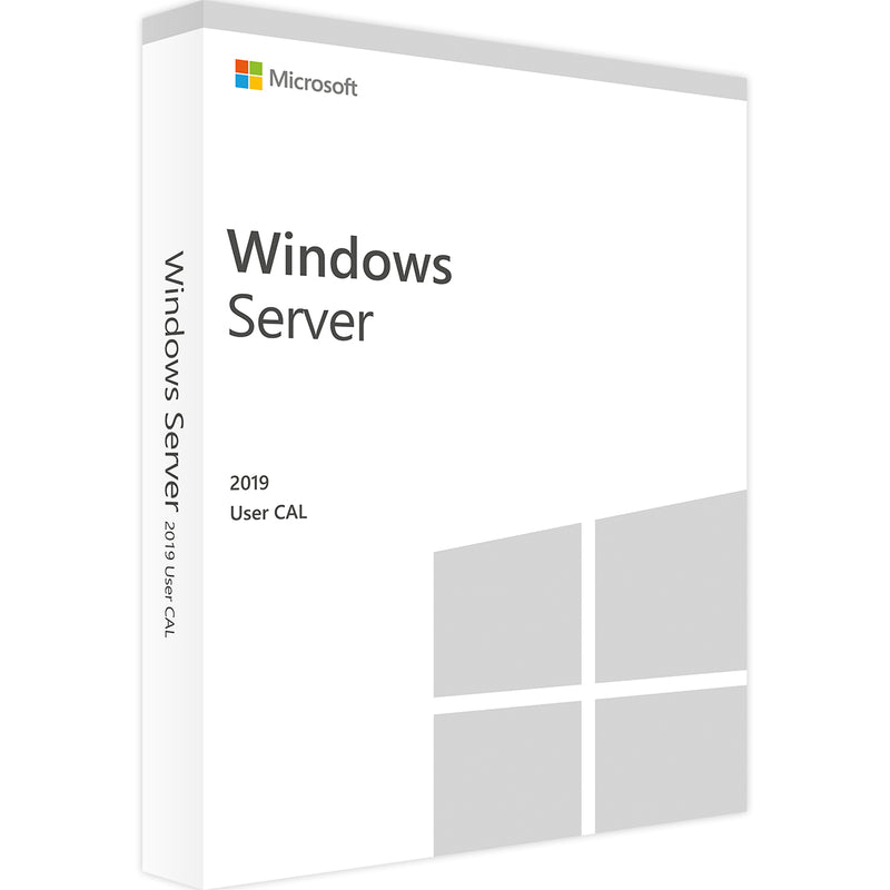 WINDOWS SERVER 2019 - 10 USER CALS