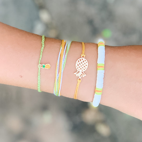 Pineapple Perfection Bracelet set