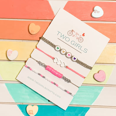 All the Hearts Bracelet set