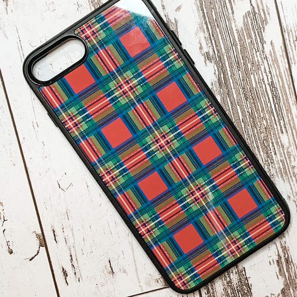 Holiday Plaid phone case
